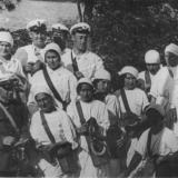 Врачи госпиталя на санитарных маневрах 1929 год