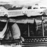 Севастопольский морской госпиталь (в 1798 году) вторая локация (Южная бухта) 1798 г