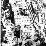 Руины госпиталя после немецкой бомбардировки 1942 год
